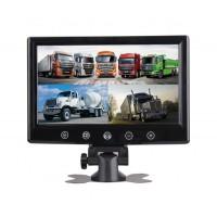 """9"""" LED Монитор Smart Technology M9, 4 AV входа, Дистанционно, DVD плейър"""