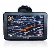 """GPS навигация за кола и камион Vivas AllRoad 5005 EU, 5"""" дисплей, Капацитивен тъч, Висока резолюция"""