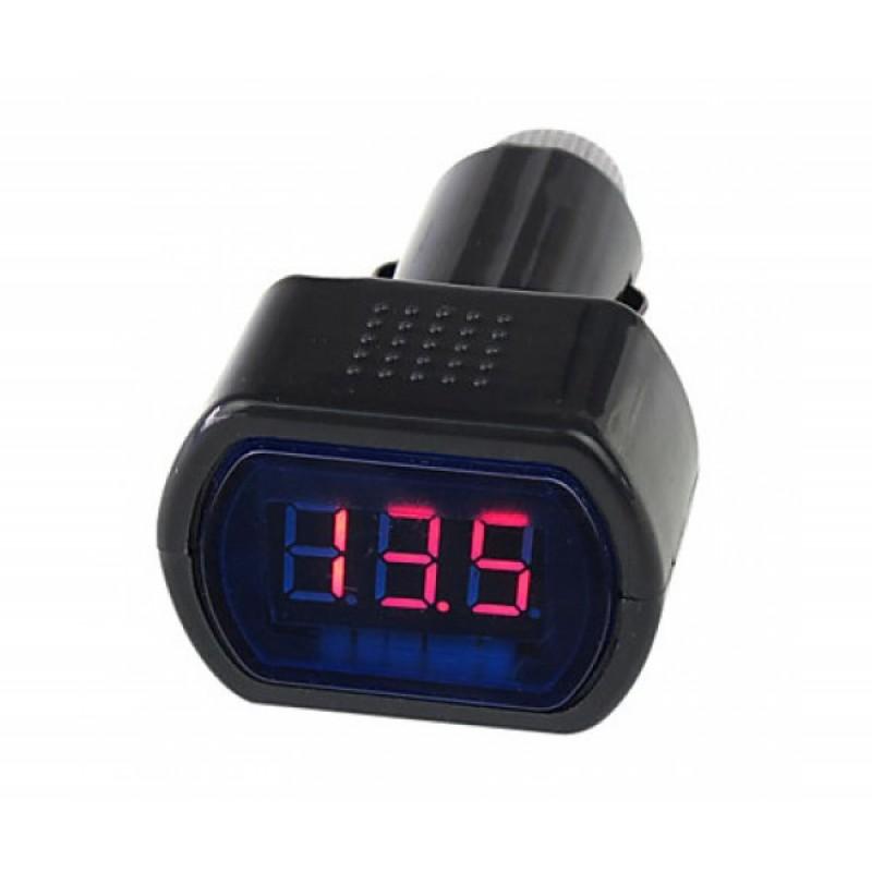 12V-24V Дигитален LED Волтметър за автомобил