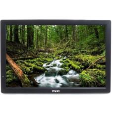 "13"" портативен телевизор Vivas TV13, 13 инча, 12/220V, Цифров тунер DVB-T2, Мултимедия, Акумулаторна батерия"