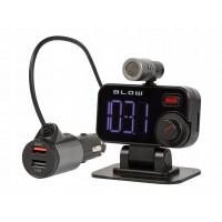 Автомобилен FM трансмитер с USB зарядно за GSM Blow 159, Bluetooth, Quick Charge 3.0, Super Bass