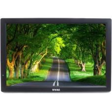 "14"" портативен телевизор Vivas TV14, 14 инча, 12/220V, Цифров тунер DVB-T2, Мултимедия, Акумулаторна батерия"
