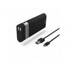 Външна преносима батерия HAMA Joy 137494, 13000 mAh, Черен