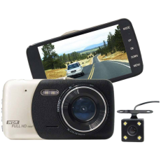 Авто видеорегистратор Smart Technology Cam 4, 2 камери, Full HD