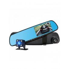 """Огледало за кола с вграден видеорегистратор, 4.3"""", Full HD, Камера задно виждане"""