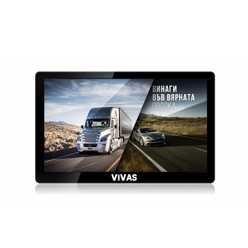 "GPS навигация за кола и камион  Vivas Silver 7010 EU, 7"""